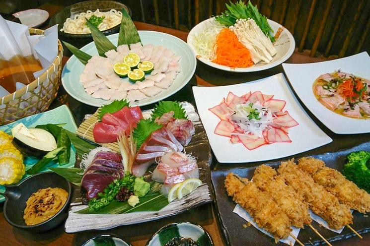 期間限定で魚の飯・魚王KUNIにて夏のコースを提供中!
